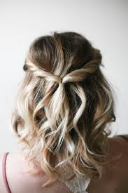 homecoming hair braids instructions simple twist hairdo in three easy steps say yes short