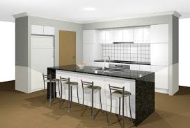 galley style kitchen with island s house project kitchen renders