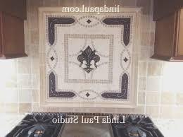 kitchen medallion backsplash backsplash view medallion tile backsplash amazing home design