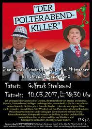 polterabend flyer der polterabend killer krimidinner golfpark strelasund