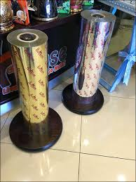 mylar gift wrap nuthouse cleverly brands in store gift wrap rolls fixtures up