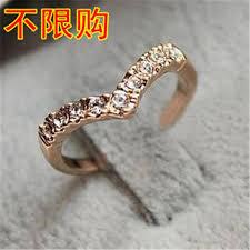 jewelry v type v shaped unique design simple models
