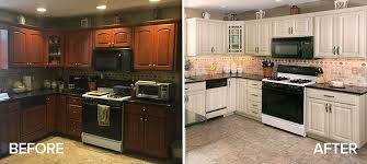 kitchen cabinet refacing ideas diy amazing kitchen refacing transformations with before