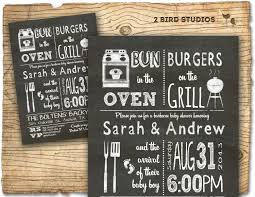 coed baby shower bbq baby shower invitation baby q bbq baby shower invite