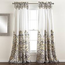 Yellow Gray Curtains Impressive Gray And Yellow Curtains And Curtains Collection On