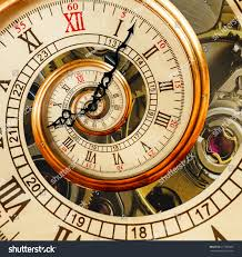antique old clock abstract fractal spiral stock photo 617386883