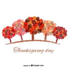 abstract thanksgiving day background vector free