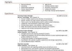Sample Technical Project Manager Resume by Download Instrument And Control Engineer Sample Resume