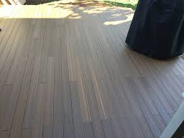 Laminate Flooring On Concrete How To Lay Deck Flooring On A Concrete Patio