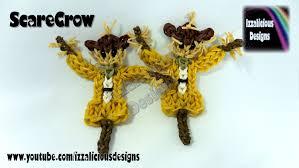 rainbow loom thanksgiving harvest scarecrow figure doll