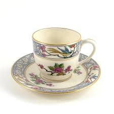 vintage lenox tea cup and saucer ming demitasse china usa bird