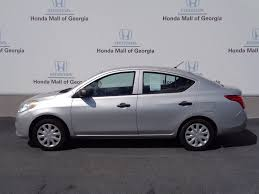 2012 used nissan versa 4dr sedan manual 1 6 s at honda mall of
