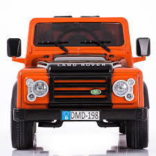 land rover kid land rover defender ride on 12v suv jeep with 2 4g remote control