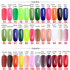na 168 colors nail gel polish gel len long lasting soak off uv gel