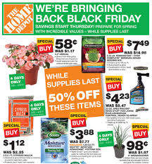 black friday deals at home depot home depot 4 day sale starts thursday morning cyprus mulch 1 12