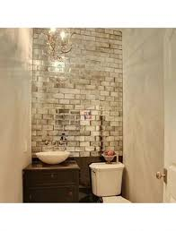 Mirror Tiles Backsplash by Tile Enlarge Your Space And Make Shine With Mirrored Subway Tiles