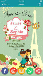invitation maker app wedding invitation greeting cards maker app report on mobile