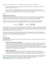 fashion retail resume film properties tests and details