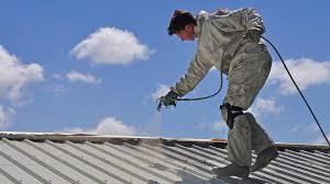 white acrylic roof coating roof fence u0026 futons acrylic roof