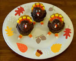 how to make thanksgiving turkey cupcakes by rula
