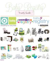 baby shower registries with megs my trusty baby registry guide