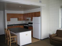 apartment amazing kitchen studio apartment with book storage in