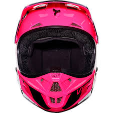 motocross helmets fox fox racing 2017 mx new ladies v1 race pink womens dirt bike