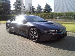 Black Bmw I8 The Future Has Arrived And This Time In Black The Bmw I8 Is