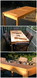 outdoor table ideas diy patio table ideas younited co