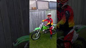 first start up of my kx80 youtube