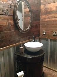 image of decorating cave bathroom cave bathroom ideas remodel rustic bathroom with pallet wall