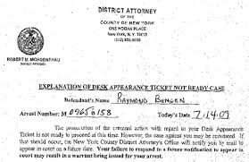 desk appearance ticket nyc legal ordeal continues for driver assault victim ray bengen