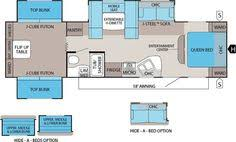 Bunkhouse Trailer Floor Plans Forest River Rockwood Ultra Lite Travel Trailer Floorplans Could