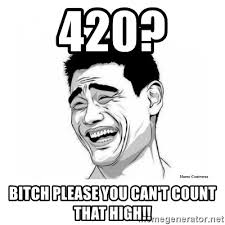 Meme Bitch Please - 420 bitch please you can t count that high bitch please meme