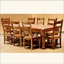 solid wood dining room table and chairs innards interior