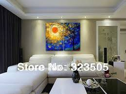 Sofas Set On Sale by Aliexpress Com Buy 2 Piece Abstract Modern Wall Art Canvas