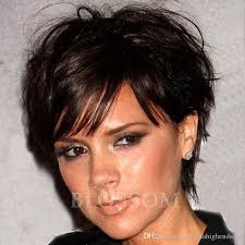 cheap human real hair wig pixie cut short wig for black women