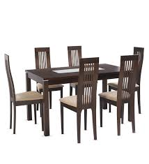 chic dining set for 6 endearing dining table set with 6 chairs
