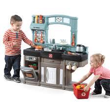 Pretend Kitchen Furniture by Best Chef U0027s Kitchen Play Kitchens Step2