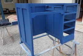 repeindre un bureau repeindre un bureau excellent peinture vieux bureau bois wooden