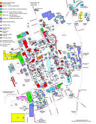 Texas State University Campus Map by Umass Parking Map My Blog