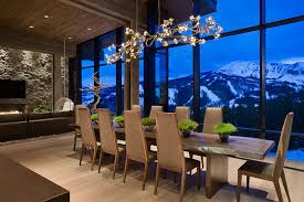 Chandelier Above Dining Table Dramatic Dining Rooms 30 Beautiful Ideas