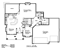 3 bay garage house plans