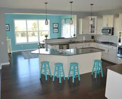 Eat In Kitchen Island Kitchen Island Eat In Kitchens Chairs Kitchen Designs Blue