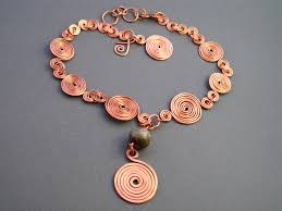 copper necklace images Circle du solell copper necklace paparazzi accessories 5 00 jpg