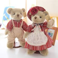 teddy clothes lovely teddy plush toys bears in clothes dolls