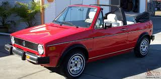 volkswagen rabbit truck 1982 vw rabbit convertible vw rabbit convertible fully restored red