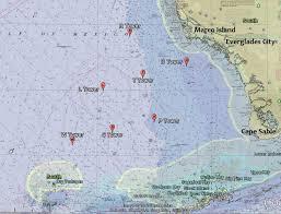 florida shipwrecks map southwest reefs shipwrecks florida go fishing