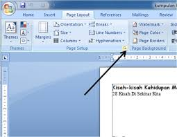 membuat novel di ms word cara membuat layout buku malkas media
