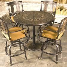 Balcony Height Patio Chairs Bar Height Patio Dining Set Photogiraffe Me